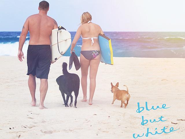 blue but white『Last Summer』
